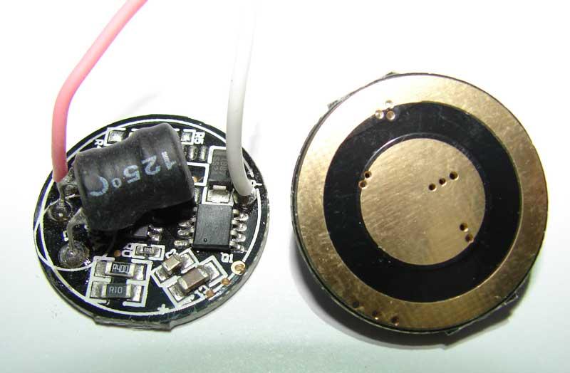 схема LED-драйвера - Практическая схемотехника.