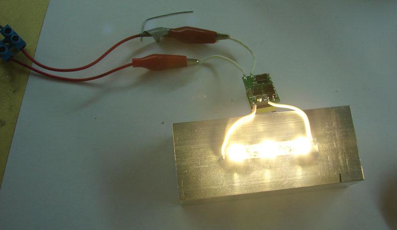 Как сделать лампу из светодиодной