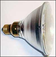 галогенная лампа накаливания со встроенным рефлектором