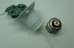 подключение драйвера светодиодной лампы
