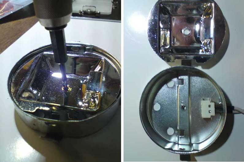 Как сделать рассеиватель на светодиодных лампах