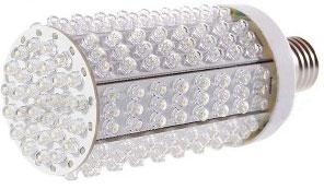 100 ватную лампу накаливания заменить светодиодами: